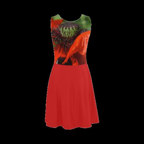 Dancing Poppy, Nature Atalanta Sundress (Model D04)