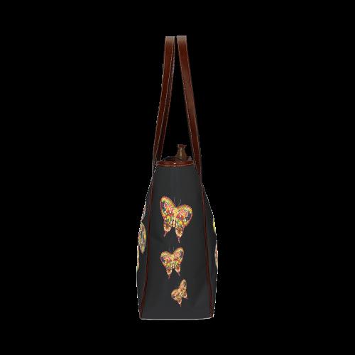 Power Flower VeggieArt Fruits Vegetables Classic Tote Bag (Model 1644)