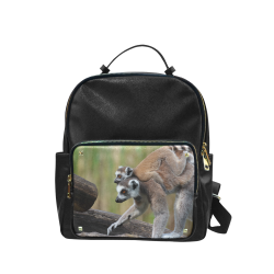 e751abb0a5 Ring-Tailed Lemur Catta Katta Mother And Baby Campus backpack Large (Model  1650