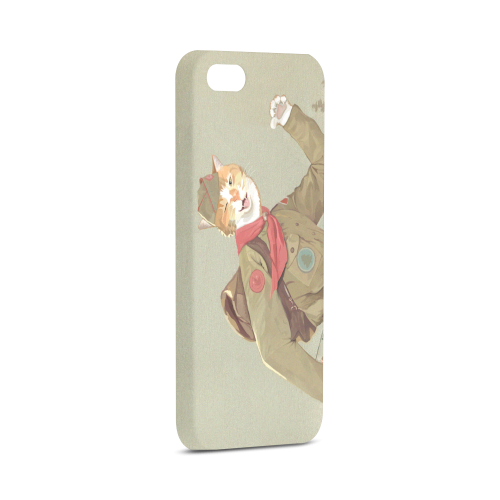 Cat Scout iPhone Case Hard Case for iPhone 5/5s
