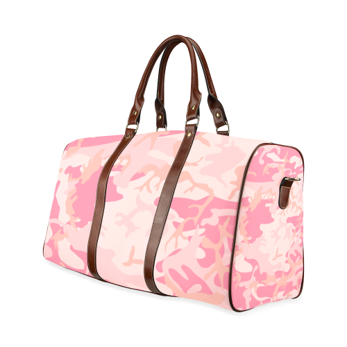 Camouflage Waterproof Travel Bag/Small (Model 1639)