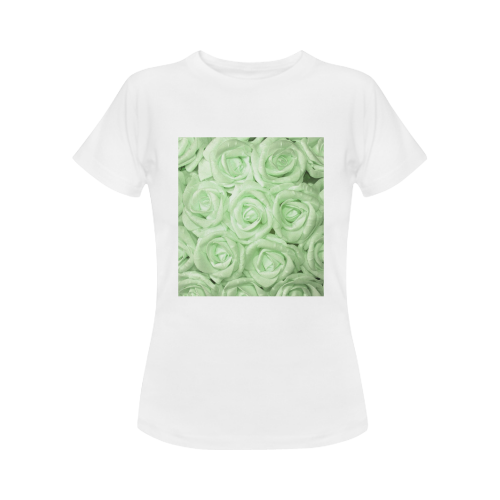 gorgeous roses A Women's Classic T-Shirt (Model T17)