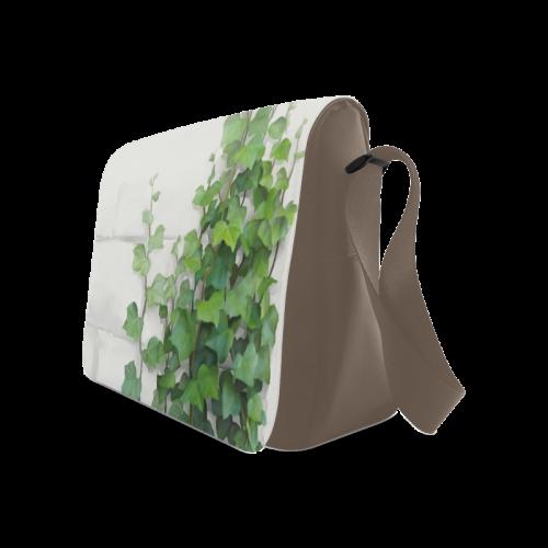 Watercolor Vines, climbing plant Messenger Bag (Model 1628)