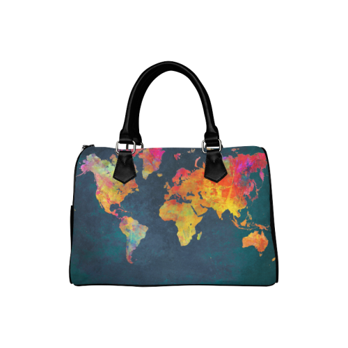 World map 16 boston handbag model 1621 id d504344 world map 16 boston handbag model 1621 gumiabroncs Images
