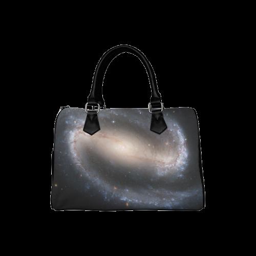Barred spiral galaxy NGC 1300 Boston Handbag (Model 1621)