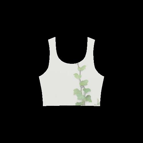 Watercolor Vines, climbing plant Atalanta Sundress (Model D04)