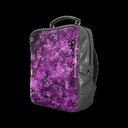 Stars20160723 Square Backpack (Model 1618)