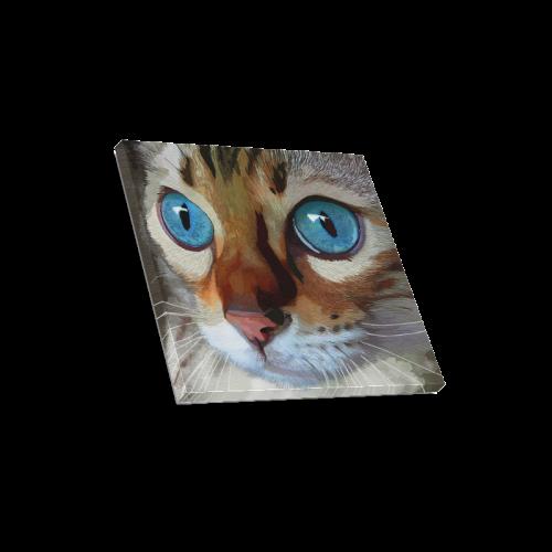 """Blue Eyes Canvas Print 16""""x16"""""""