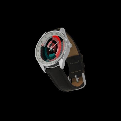Cornea - Jera Nour Men's Leather Strap Analog Watch(Model 209)