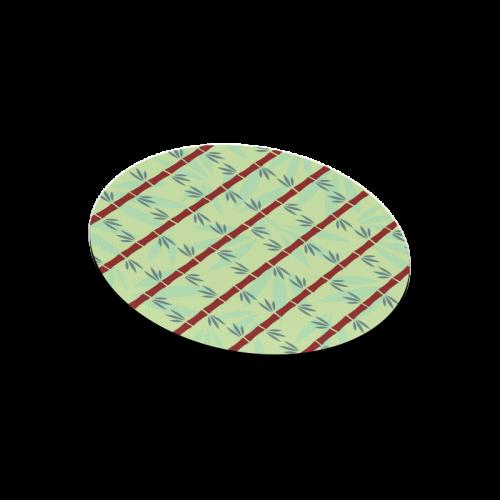 Bamboo Round Mousepad