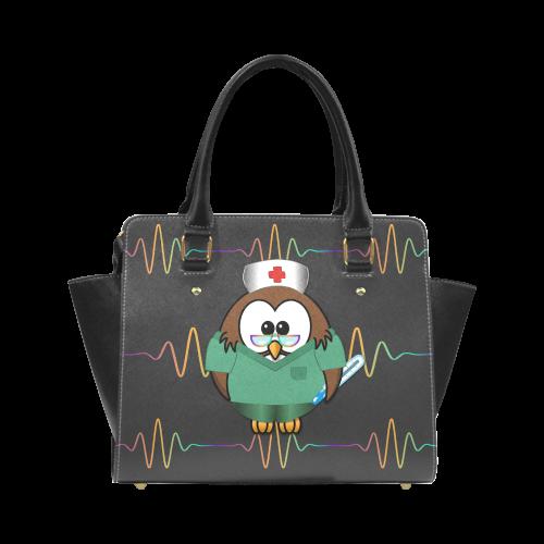 nurse owl handbag Classic Shoulder Handbag (Model 1653)