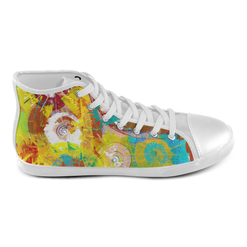Big Bang High Top Canvas Kid's Shoes (Model 002)