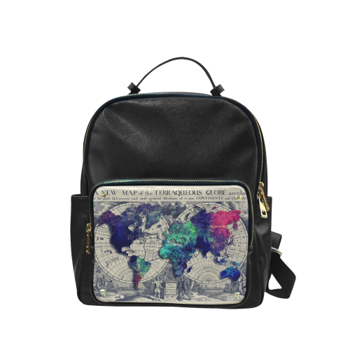 world map 22 Campus backpack/Large (Model 1650)
