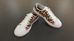Canvas Women's Shoes/Large Size (Model 018)