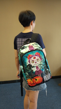 Fabric Backpack for Adult (Model 1659)