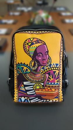 Unisex Slim Backpack (Model 1664)