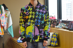 All Over Print Bomber Jacket for Men/Large Size (Model H19)