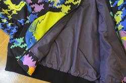All Over Print Bomber Jacket for Men (Model H19)