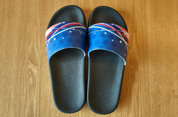 Men's Slide Sandals/Large Size (Model 057)