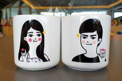 Heart-shaped Mug(10.3OZ)