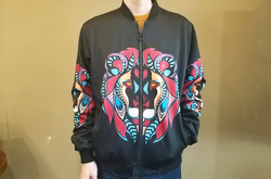 All Over Print Bomber Jacket for Men (Model H31)