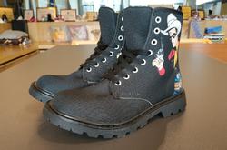 Martin Boots for Men (Black) (Model 1203H)