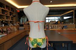 Buckle Front Halter Bikini Swimsuit (Model S08)