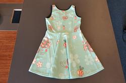 Girls' Sleeveless Sundress (Model D56)