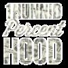 1Hunnid Percent Hood Hip-Hop Clothing