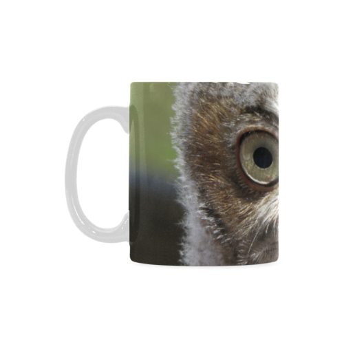 Baby Screetch Owl 11 oz mug White Mug(11OZ)