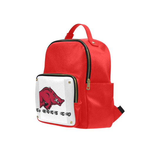 Razor Back Hogs Spirit Back Pack Campus backpack/Large (Model 1650)