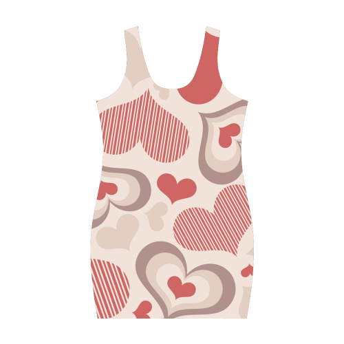 Hearts Dress XXXL Medea Vest Dress (Model D06)