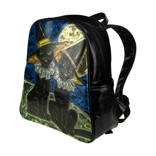 Halloween20160809 Multi-Pockets Backpack (Model 1636)