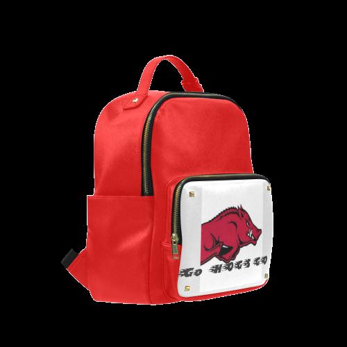 Razor Back Hogs Spirit Back Pack Campus backpack/Large (Model 1650)