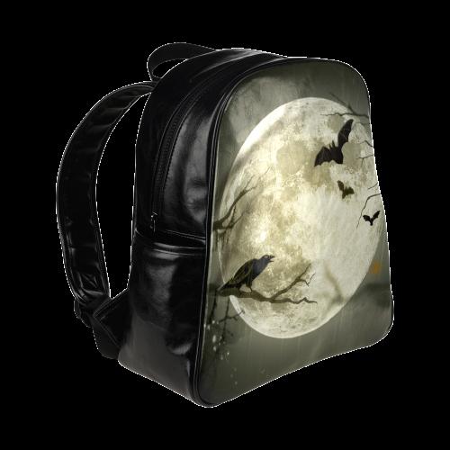 Halloween20160808 Multi-Pockets Backpack (Model 1636)