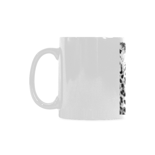 Leopard 11 oz mug in pencils White Mug(11OZ)