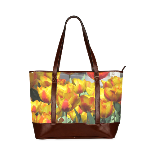 Tulips Tote Bag Tote Handbag (Model 1642)
