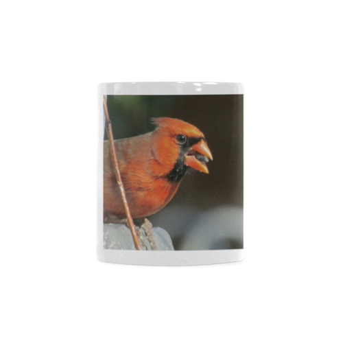 Northern Male Cardnial White Mug(11OZ)