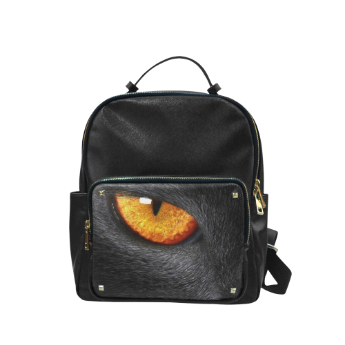 Black Cat's Eye Back pack Campus backpack/Small (Model 1650)