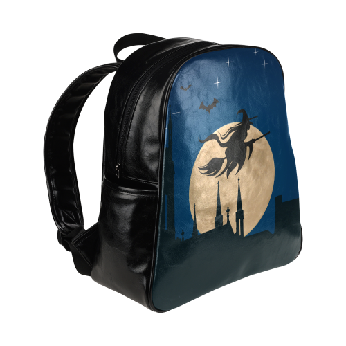 Halloween20160807 Multi-Pockets Backpack (Model 1636)