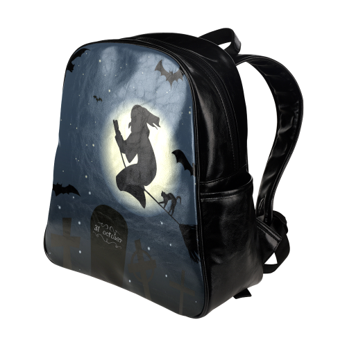 Halloween20160819 Multi-Pockets Backpack (Model 1636)