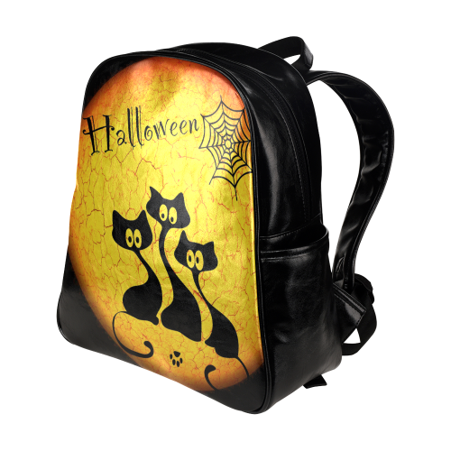 Halloween20160817 Multi-Pockets Backpack (Model 1636)
