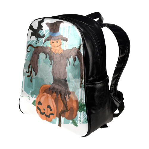 Halloween20160821 Multi-Pockets Backpack (Model 1636)