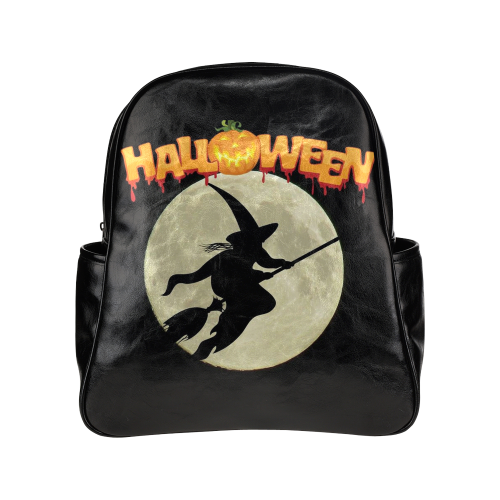 Halloween20160818 Multi-Pockets Backpack (Model 1636)