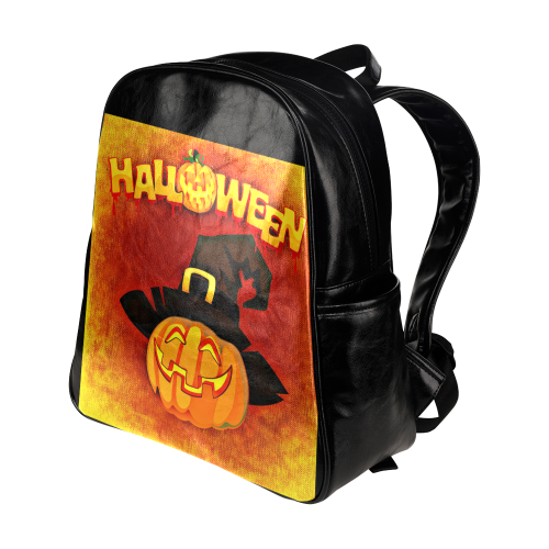 Halloween20160816 Multi-Pockets Backpack (Model 1636)