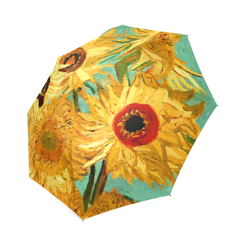 Van Gogh Sunflowers Floral Foldable Umbrella