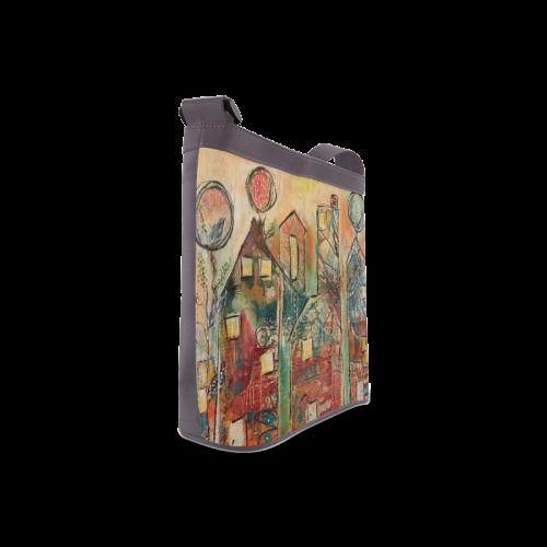 """HOME SWEET HOME""-CROSSBODY Crossbody Bags (Model 1613)"