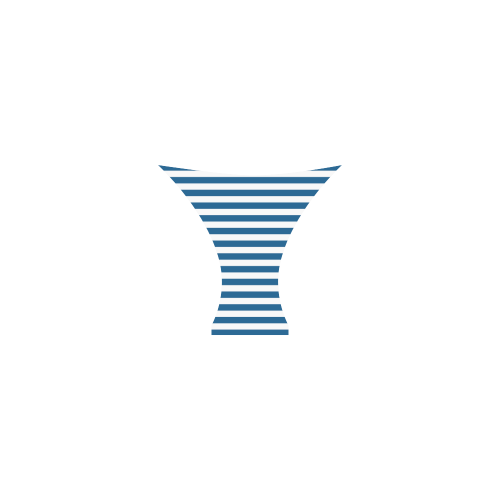 Bikini, Blue & White Stripes Custom Bikini Swimsuit