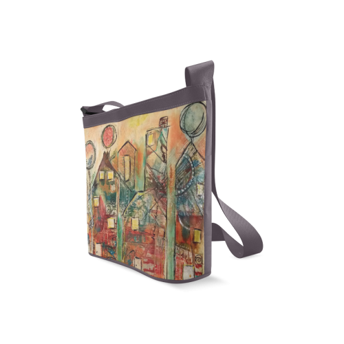 """HOME SWEET HOME""-CROSSBODY Crossbody Bags (Model 1613)"