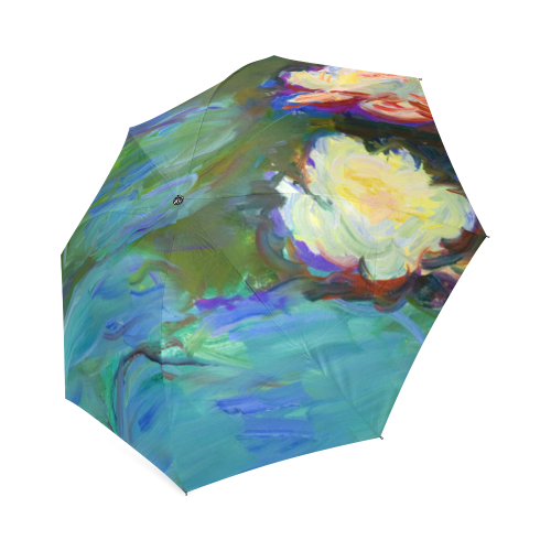 Monet Water Lilies Foldable Umbrella